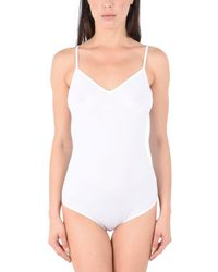 Hanro White Bodysuit