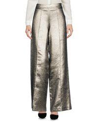 Pantalone di Roberto Collina in Metallic