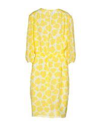 Boutique Moschino Yellow Knee-length Dress
