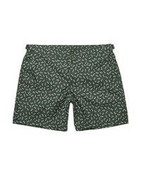 Dolce & Gabbana Green Swim Trunks for men