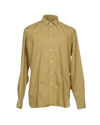 Robert Friedman Green Shirt for men