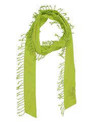 DKNY Green Oblong Scarf