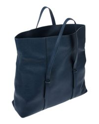 Orciani Blue Handbag