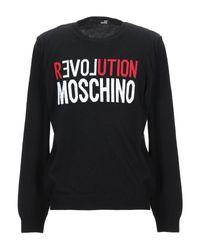 Pullover Love Moschino de hombre de color Black