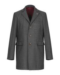 Manteau long AT.P.CO pour homme en coloris Gray