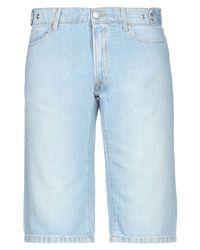 Bermuda jeans di Trussardi in Blue da Uomo