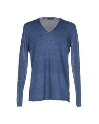 Roberto Collina Blue Sweater for men