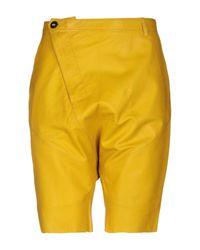Bermudas Tigha de hombre de color Yellow