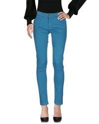 Twin Set Blue Casual Trouser