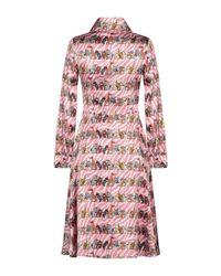 Ultrachic Pink Knee-length Dress