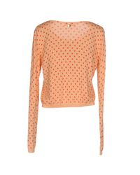 Twin Set Orange Intimate Knitwear