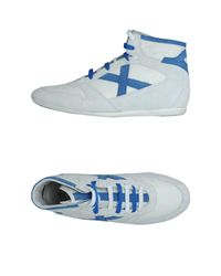 Munich White High-top Sneaker for men