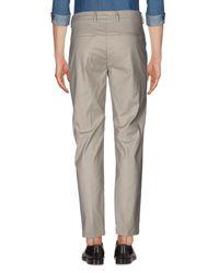 Pantalone di Yan Simmon in Gray da Uomo