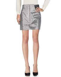 KENZO Metallic Knee Length Skirt