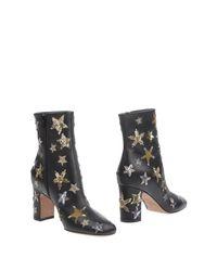 Valentino Garavani Black Ankle Boots