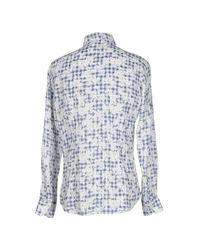 Camicia di Glanshirt in Blue da Uomo