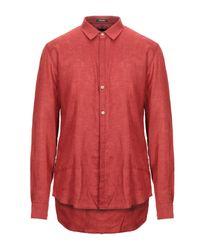Officina 36 Red Shirt for men