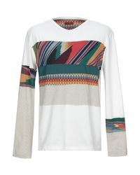 Missoni White T-shirt for men