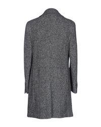 Thom Sweeney Gray Coat for men