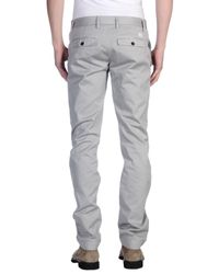 Department 5 Gray Casual Trouser for men