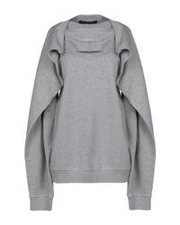 Y. Project Gray Sweatshirt