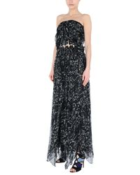 Robe longue Philipp Plein en coloris Black
