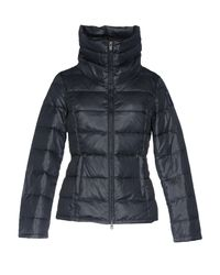 Bomboogie - Blue Down Jacket - Lyst