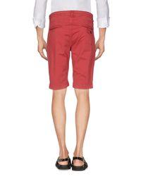 Antony Morato Red Bermuda Shorts for men