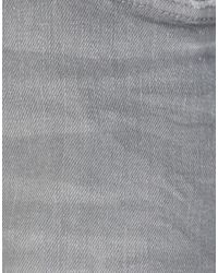 Pantalon en jean Mauro Grifoni en coloris Gray