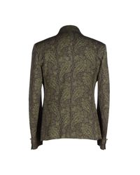 Brian Dales Green Blazer for men