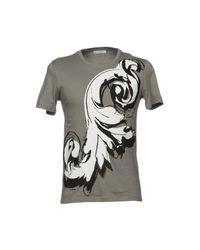 Versace Gray T-shirt for men