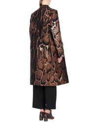Dries Van Noten Brown Coat