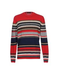 Altea Red Sweater for men