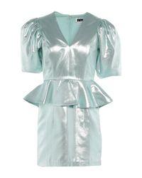 Robe courte ROTATE BIRGER CHRISTENSEN en coloris Green