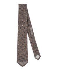 Corbata ROSI COLLECTION de hombre de color Gray
