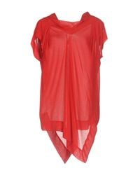 Vivienne Westwood Anglomania Red Blouse