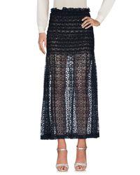 Stella McCartney Blue Long Skirt