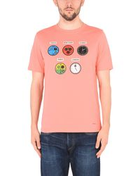 PS by Paul Smith Pink T-shirt for men