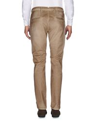 People Brown Casual Pants for men