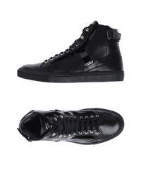 Sneakers & Tennis montantes Versace pour homme en coloris Black