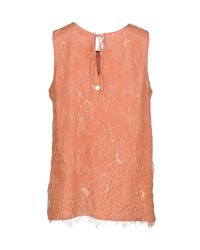 Scee By Twin-set - Pink Top - Lyst