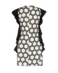 .8! Point Huit White Short Dress