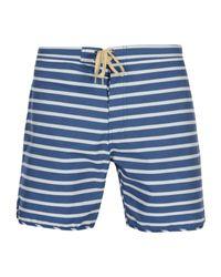 Mollusk Strandhose in Blue für Herren