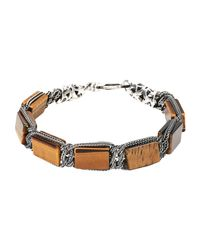 Emanuele Bicocchi - Brown Bracelet for Men - Lyst