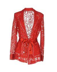 Pinko - Red Blazers - Lyst