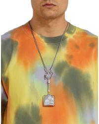 Collar Ambush de hombre de color Metallic