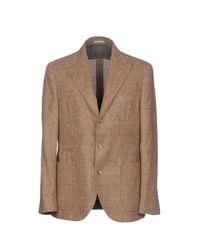 Brunello Cucinelli Brown Blazer for men