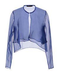 Boléro Hanita en coloris Blue