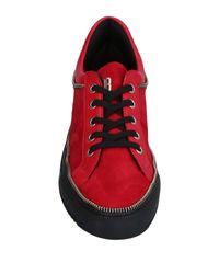 Dirk Bikkembergs - Red Low-tops & Sneakers - Lyst