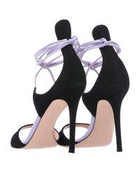 Gianvito Rossi Purple Sandals